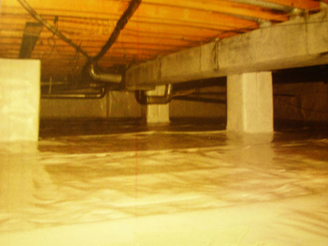 Crawl Space Encapsulation To Help Prevent Musty Odors, Mold, Mildew, Water  And Radon Gas For A Cleaner, Healthier Storage Space.