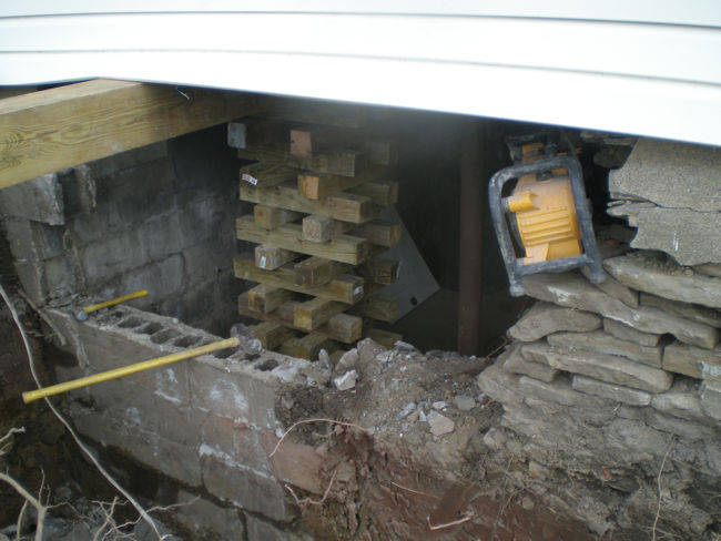 Crawl Space Excavation And Rebuilds